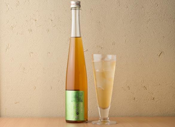 梅酒|純米梅酒 百花の魁