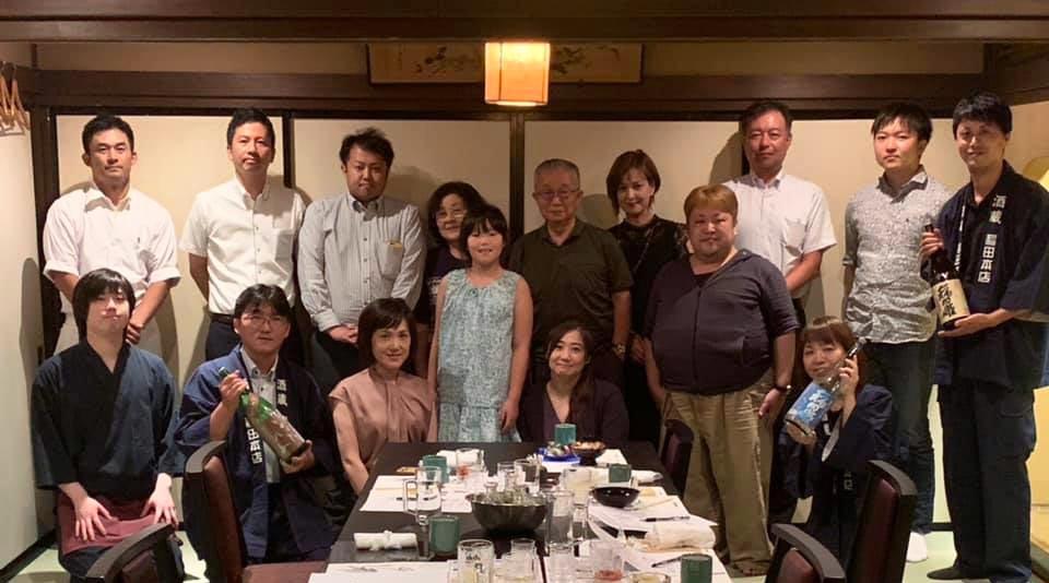 稲田屋米子店×酒蔵 稲田本店の共同イベント『白いかと夏のお酒を愉しむ会』開催しました!