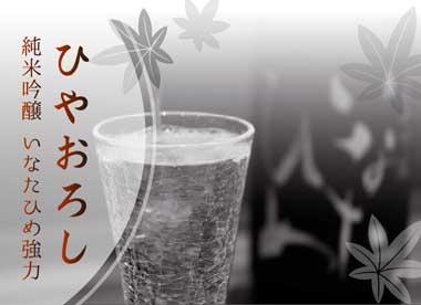 今月の酒 純米吟醸「いなたひめ強力」ひやおろし、入荷しました。