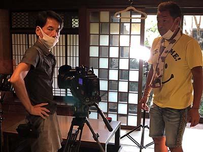 中海テレビ放送さんから取材がありました!