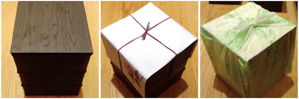 四季蔵弁当 ~基本の包装